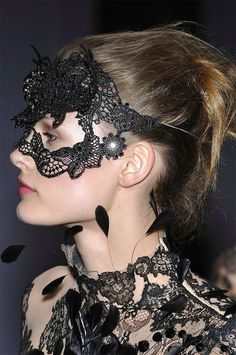 Valentino - Mask + Lace via Flickr