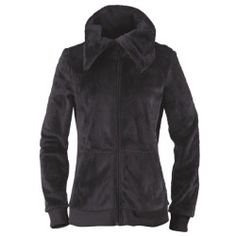 Roxy Womens Snow Fleece Welcome Snow Black, $75.00 | www.findbuy.co/brand/roxy