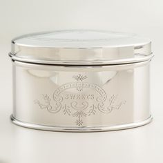 Stainless Steel Sweets Tin | World Market