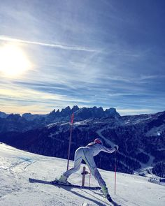 """""""The Dolomites are so beautiful. Stay humble and hungry! #grinding"""""""