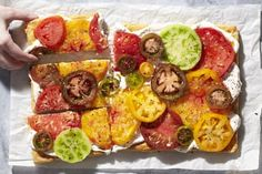 The tomato tart is a classic summer dish. It stands alone as a great appetizer…