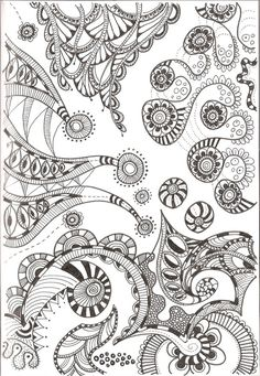 zentangle printable downloads for coloring