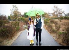 Wedding Ceremony: What Do I Do If It Rains On My Wedding Day? (Beautiful photos of rainy day weddings)