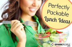 Easy School (and Work) Lunch Ideas via @SparkPeople