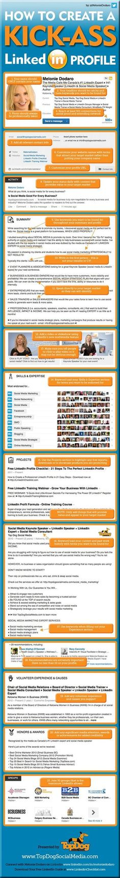 How to create a kick-ass Lindekin profile, by topdogsocialmedia.com