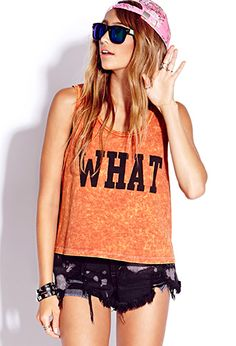 Whatever Boxy Tank | FOREVER21 - 2000128722