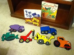 #felt Piper Loves the Library: Dig that Dirt!