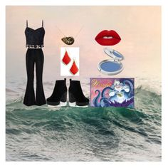 """Every-Day Ursula cosplay"" by jessgray-jg on Polyvore featuring interior, interiors, interior design, home, home decor, interior decorating, Lipsy, River Island, Disney and Lime Crime"