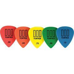 Dunlop Tortex T3 Sharp Tip Guitar Picks 12-Pack .50 mm