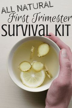 All Natural First Trimester Survival Kit