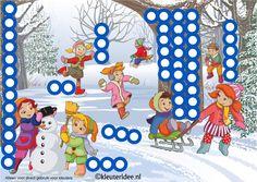 Interactieve praatplaat thema winter, by juf Petra van Ginkel van kleuteridee, met veel informatieve video's over de winter