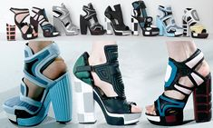 Crazy but I actually liked Rodarte's shoes!