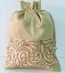 Gold colour  Designer Clutches : Navishka Collection -  YF-43133