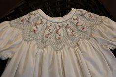 Babycakes+Smocked+Dress++Free+Shipping+in+USA+by+MyFireflyGlen,+$130.00