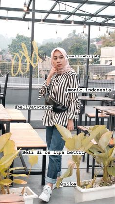 Modern Hijab Fashion, Street Hijab Fashion, Hijab Fashion Inspiration, Korean Fashion, Casual Hijab Outfit, Ootd Hijab, Casual Outfits, Fashion Outfits, Fashion 2020