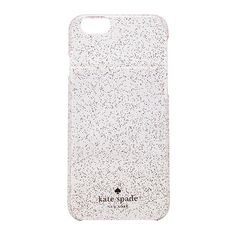 kate spade new york Glitter iPhone 6 Case Accessories (800 UYU) ❤ liked on Polyvore featuring accessories, tech accessories, phone cases, phone, cases, cover and kate spade