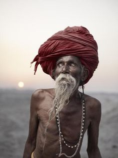 Photographer | Joey L. 00122254 | When He Was Young Living In Bihar, Lal Baba'S Parents Arranged A Marriage For Him. Uncertin About His Future, He Ran Away From Home And Took Up The Lifelong Task Of Becoming A Sadhu. Varanasi, India