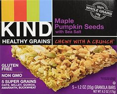 KIND Healthy Grains Granola Bars Maple Pumpkin Seed with Sea Salt 5 count box Pack of 3 *** Find out more about the great product at the image link.