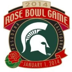 January 1st, 2014 Michigan State will go up against Stanford! I love my Spartans! GO GREEN, GO WHITE! #michiganstate #msu #rosebowl #Padgram