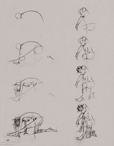 ARTIST: Ryan Woodward ~  (conte animated/gesture drawing)