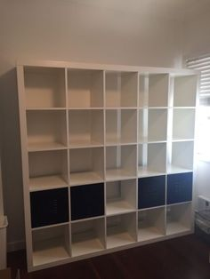 $50 aspleyClassic Ikea bookshelf for sale 5 x 5 cubes, super versatile, heaps of storage Can be used for books, trinket displays and more  185cm wide x 185cm high x 39cm ..., 1144533859