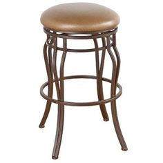 "Callee Hayward 30"" Swivel Bar Stool Frame Finish: Sun Bronze, Upholstery: Ford Red"