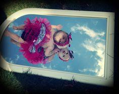 Sky swimming, Em's 6 month photo shoot