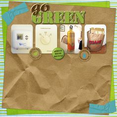 To Love The Earth Collection Mini, designed by Jennifer Ziegler, Scrap Girls, LLC digital scrapbooking product designer