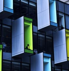 Library Facade in Singapore