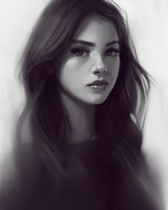 Realistic Drawings Procreate drawing :) I made this a couple months ago but never posted :) Digital Art Girl, Digital Portrait, Portrait Art, Realistic Drawings, Cute Drawings, Realistic Eye, Character Portraits, Character Art, Couple Sketch