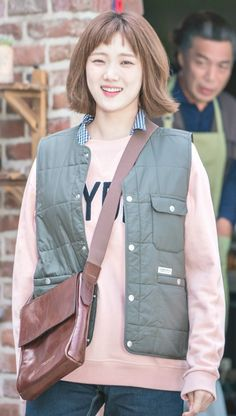 Kim Bok Joo Fashion, Lee Sung Kyung Fashion, Nam Joo Hyuk Lee Sung Kyung, Jae Yoon, Korean Drama Stars, Korean Star, Korean Actresses, Korean Actors, Weightlifting Kim Bok Joo