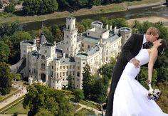 Hluboka Castle, Czech Republic. Watch > http://destinations-for-travelers.blogspot.com.br/2015/07/castelo-hluboka-castle-czech-pepublic.html