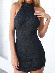 dress zaful black dress black sexy dress summer bodycon dress party style fashion lace dress trendy
