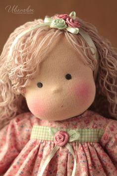 Вальдорфская игрушка ручной работы. Ярмарка Мастеров - ручная работа Вальдорфская кукла. Handmade.