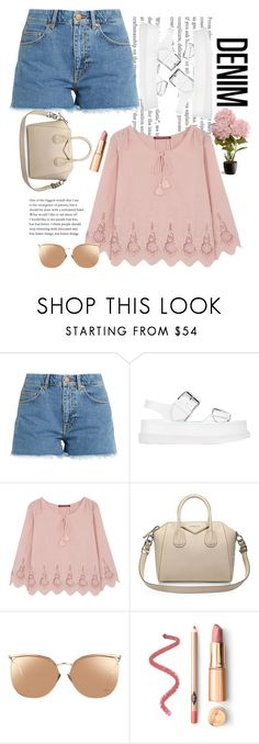 """""""Untitled #180"""" by madness4fashion on Polyvore featuring M.i.h Jeans, STELLA McCARTNEY, Comptoir Des Cotonniers, Givenchy, Linda Farrow and National Tree Company"""