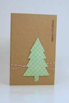 Christmas cards handmade note cards krafted by theporkchoperie