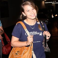 Bindi Irwin may be an international celebrity thanks to her famous late father and her own ecolog...
