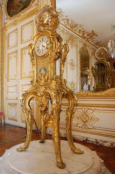 Pendule astronomique de Passemant - XVIII ème siècle - Château de Versailles