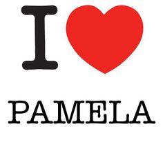 I Heart Pamela #love #heart