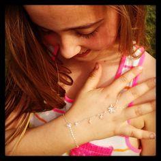 Swarovski Finger Bracelet
