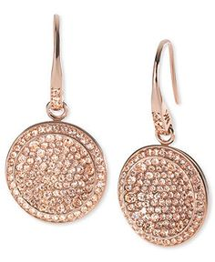 Michael Kors rose gold earrings