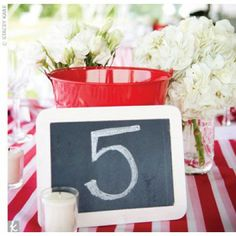Stripe Wedding Details We Love- Stripe Table Cloths