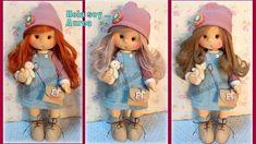 vivita mi canal manualilolis Fabric Dolls, Tela, Wooden Spoon Crafts, Beautiful Things, Tutorials