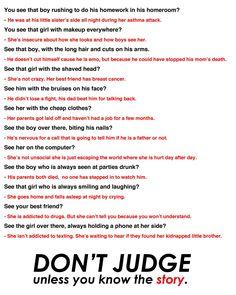 Anti bullying stories
