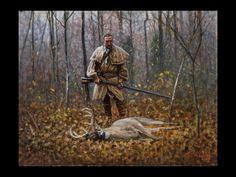 The Long Hunter Steve White, Longhunter, Native American Wisdom, Long Rifle, Oregon Trail, American Frontier, My Ancestors, Hunting Clothes, Mountain Man
