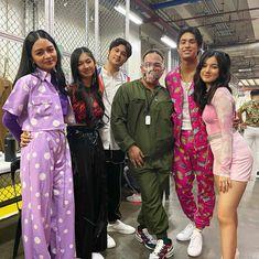 Donny Pangilinan, Her Cast, Cute Girl Photo, Girl Photos, Cute Girls, Kimono Top, Wattpad, Sari, Chic