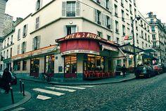 CAFE des 2 MOULINS - Paris! (Amelie z Montmartru) ♥