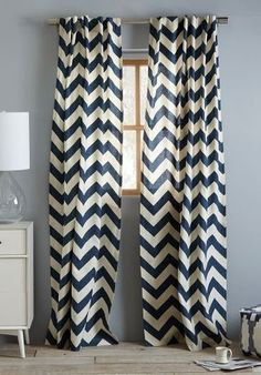 Chic chevron...love this for my daughter's room but in turquoise!