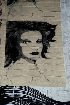 Street Art - More # Than Cookie Lady Poster