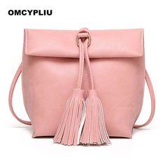2017 New Women Bags Handbags Luxury Design Messenger Bag Brands Fashion tassel Ladies Shoulder Handbag Bolsa Feminina